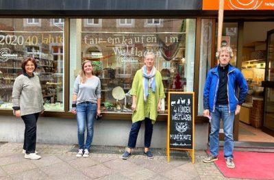 Der Dritte Weltladen in Aachen hat eine lange Tradition