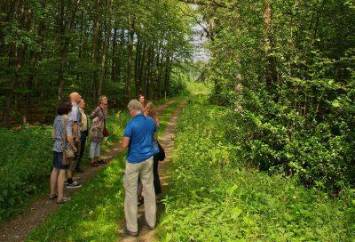 Freynter Wald Treffen mit dem NABU