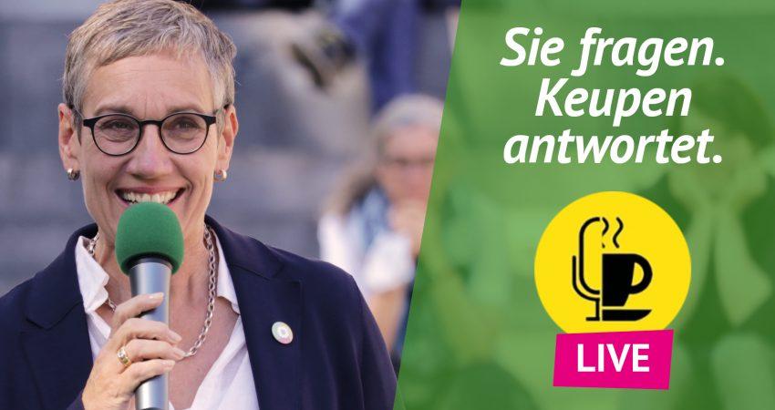 Europatalk mit Sibylle Keupen in Aachen