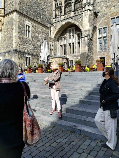 Sibylle Keupen ist eine starke Frau in Aachen